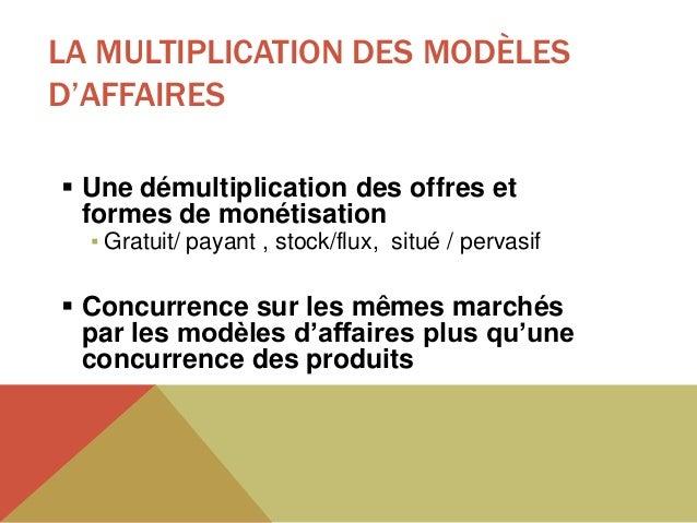 UN MODÈLE D'AFFAIRES =(SAVOIR) ARTICULER UNE CONFIGURATION SPÉCIFIQUE    • Stratégie                                      ...