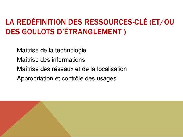 LA MAÎTRISE DE LA LOCALISATIONSpécialisation des sitesProximité et districtsValorisation des ressource localesSpécificatio...