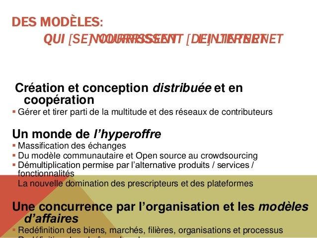 LA PROLIFÉRATION DES MODÈLES D'AFFAIRES