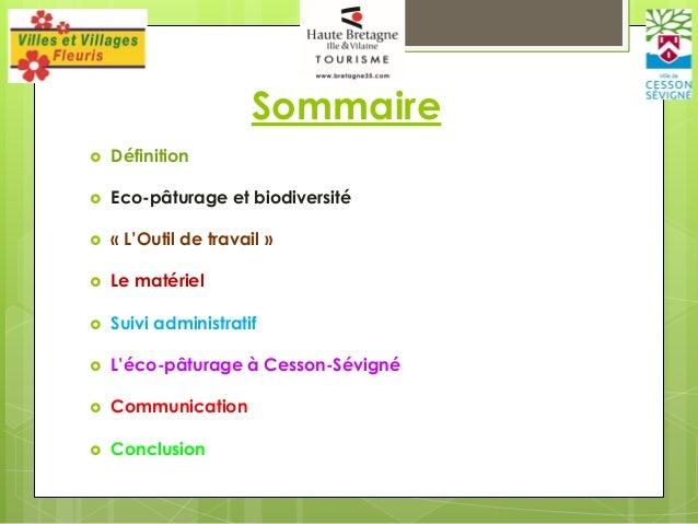 Eco-pâturage – Fabrice JAN Slide 2