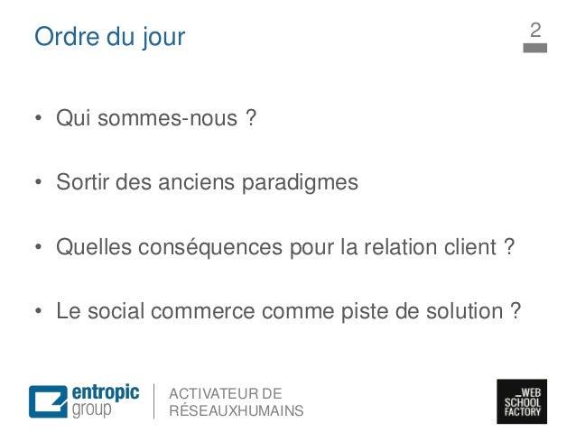 Intervention insead  social commerce Slide 2