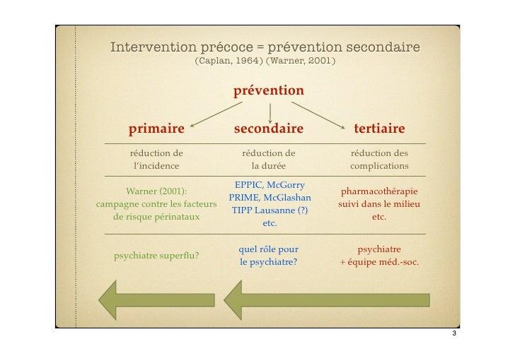 Intervention Précoce & Savoirs Sociaux Slide 3