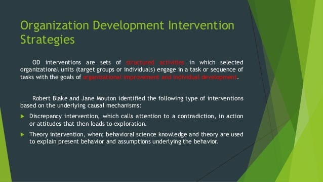 od interventions in infosys