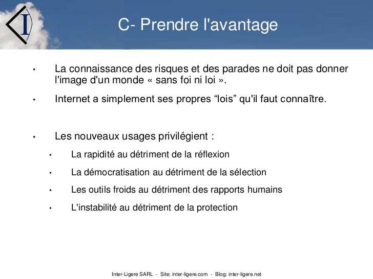 ...</li></li></ul><li>La capture et l'utilisation de données personnelles est présente dans toutes les activités web:<br /...