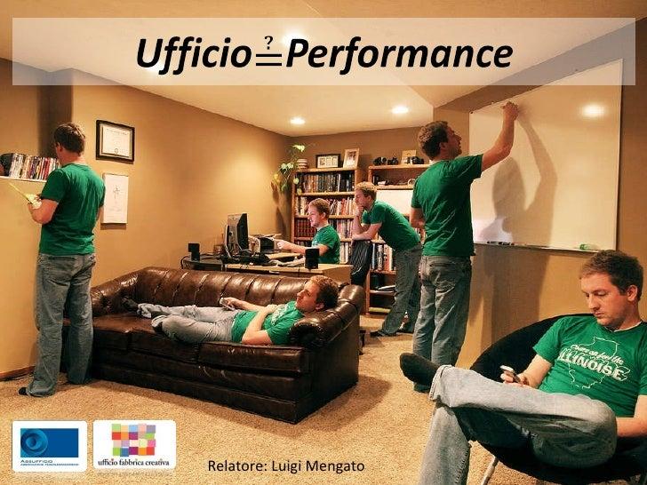 Relatore: Luigi Mengato