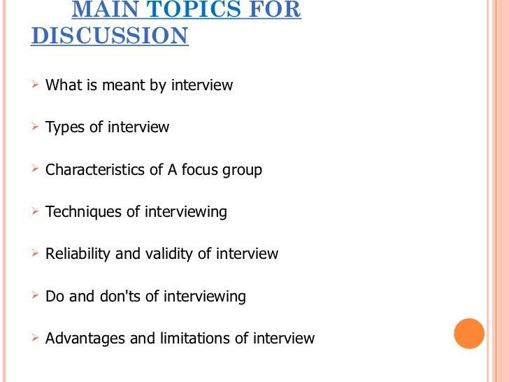 Interview Slide 2