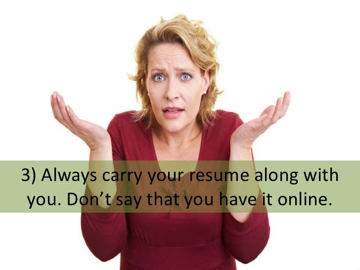 10 things you should not do in an interview