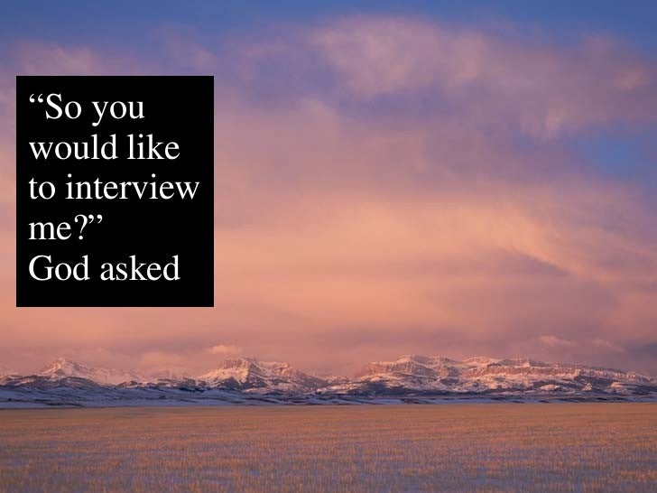 Interview with God Slide 3