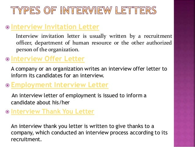 Interview letter for employment roho4senses interview letter for employment thecheapjerseys Gallery