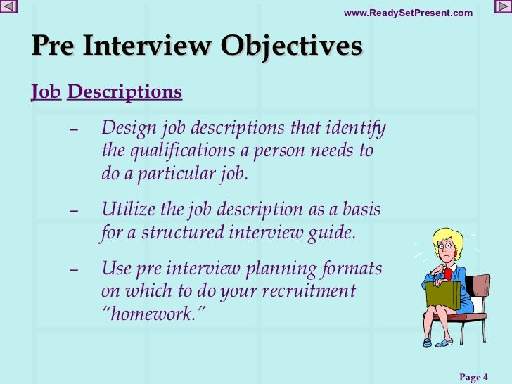 job interview objectives - Kubre.euforic.co