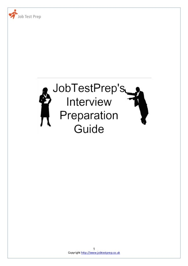 1 Copyright http://www.jobtestprep.co.uk