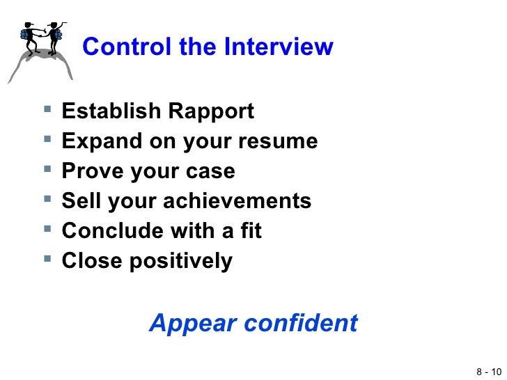 Interview Techniques (Professional Procedures)