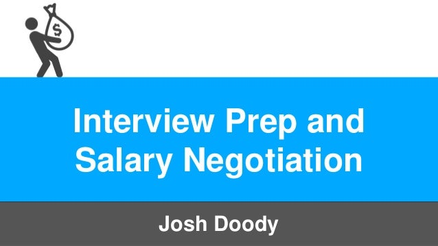 Interview and Salary Negotiation Workshop - MissionU