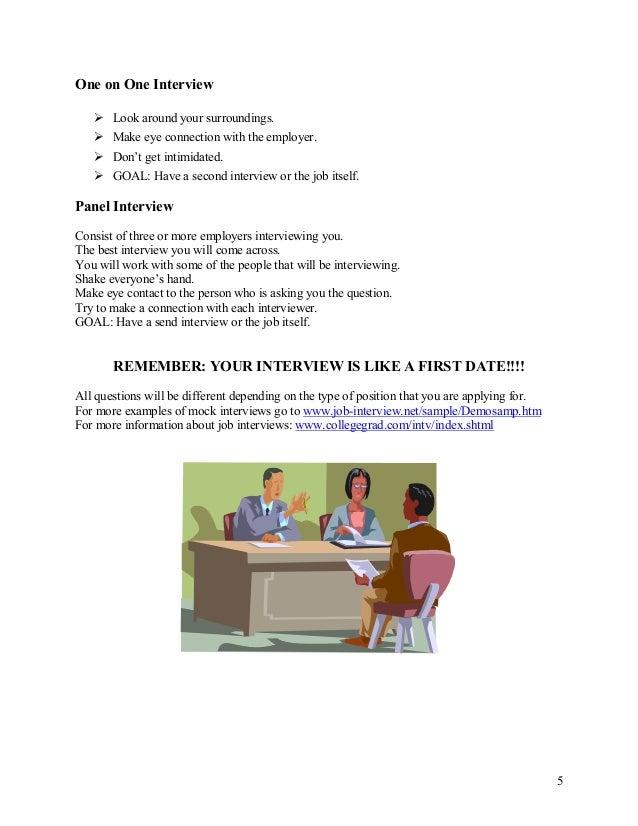 Interview Process Checklist