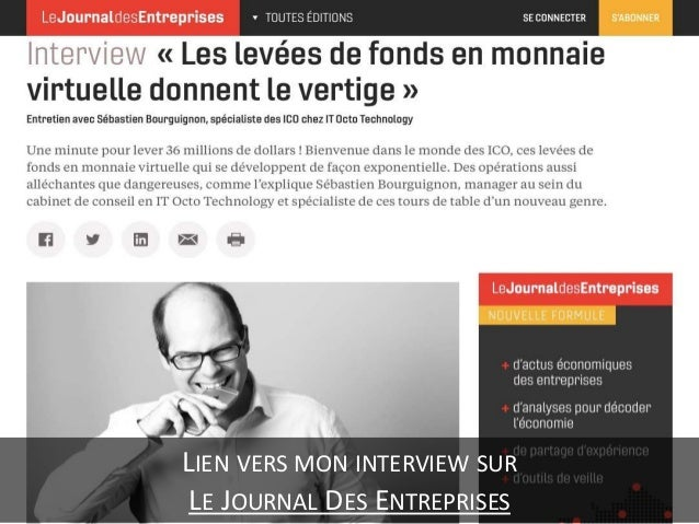 Interview de Sébastien Bourguignon - Les levées de fonds en monnaie virtuelle donnent le vertige Slide 3
