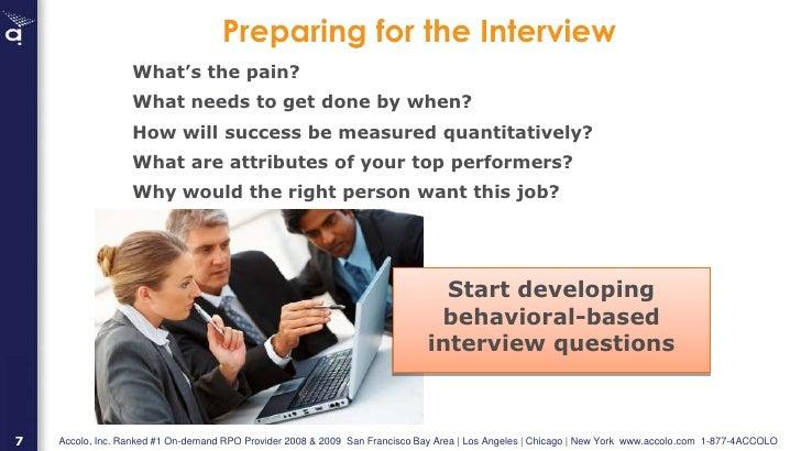 interviewer training stanford