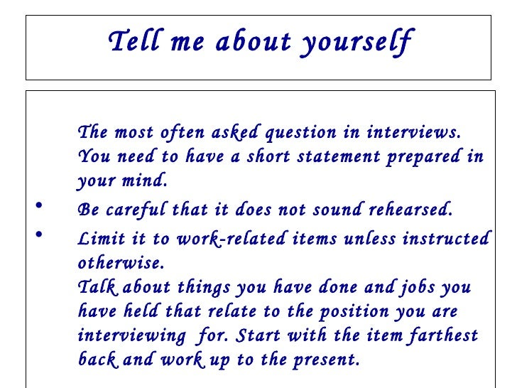 Interview FaQs With Answers