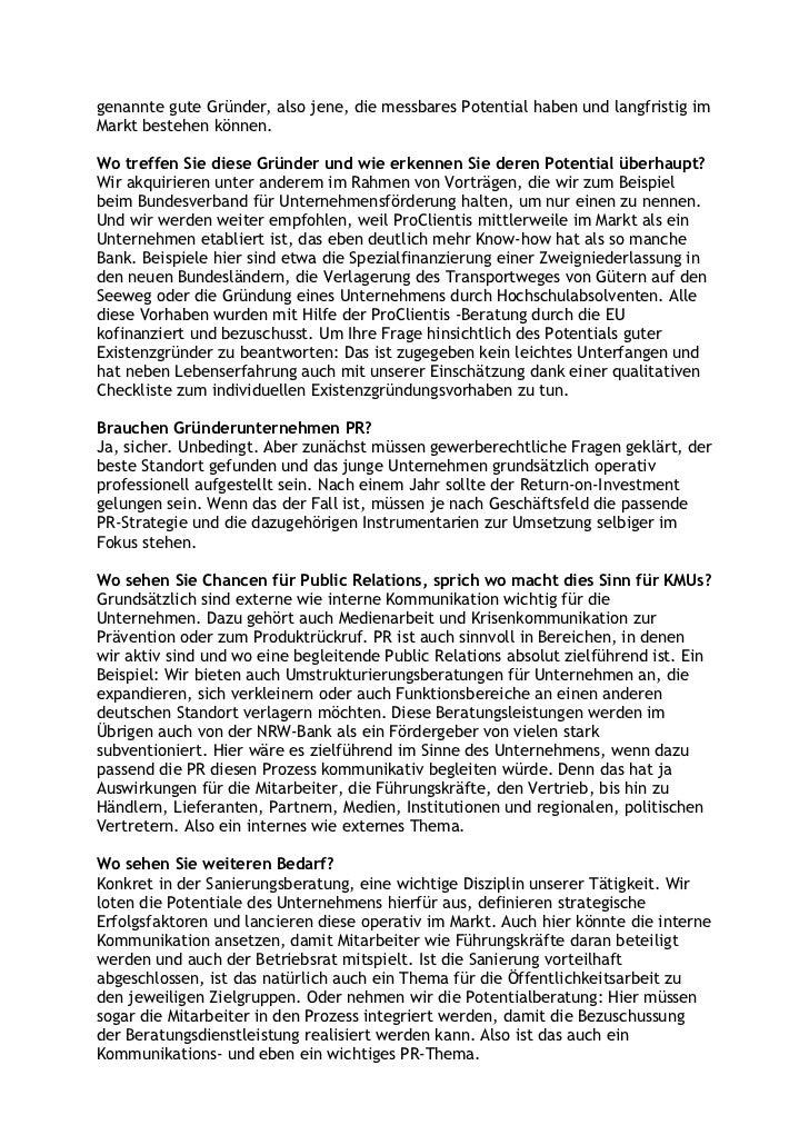 Ein verkanntes Phänomen: der deutsche Mittelstand. Chancen und Potentiale. KMUs brauchen besondere Leistungen – was erfolgreiche Unternehmensberatung und Public Relations für KMUs ausmacht Slide 2