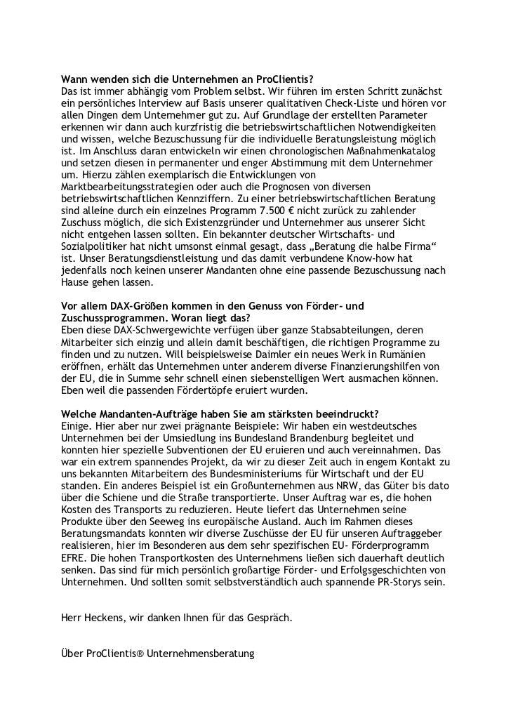 Ein verkanntes Phänomen: der deutsche Mittelstand. Chancen und Potentiale. KMUs brauchen besondere Leistungen – was erfolgreiche Unternehmensberatung und Public Relations für KMUs ausmacht Slide 3