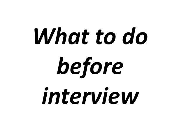 Journalism Interviewing