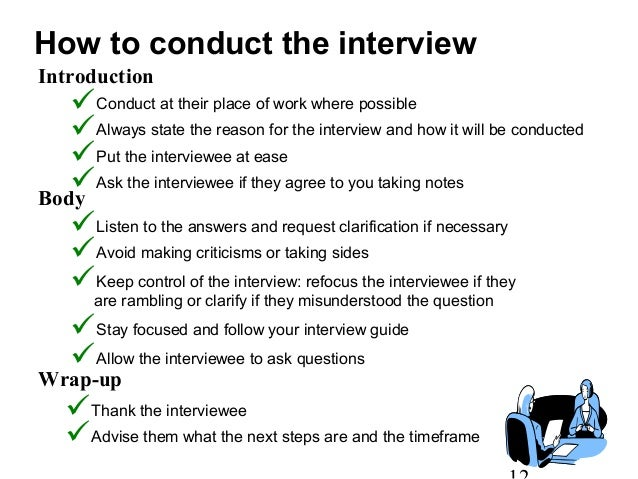 How to Conduct a Client Interview