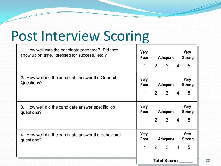 success interview questions