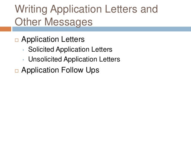 solicited application letter definition Download now solicited cover letter definition this design must be created using high level of creativity in this post we are going to give you best document sample that you may use for your personal use or some other official usage.