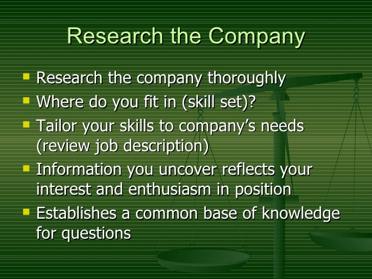 key to successful interview Slide 2