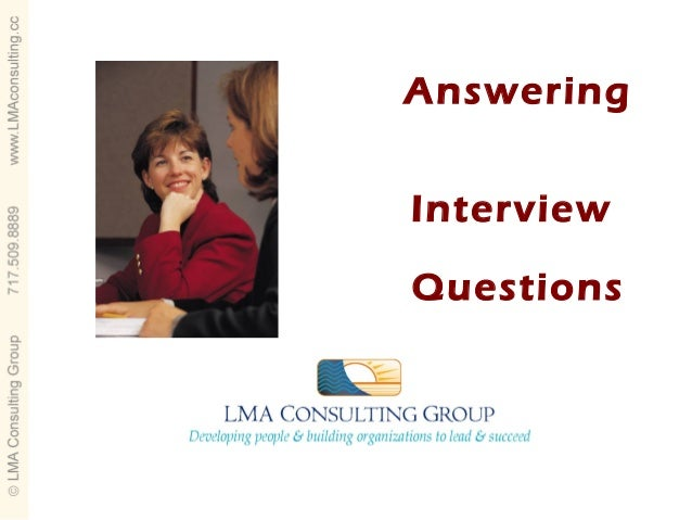 AnsweringInterviewQuestions