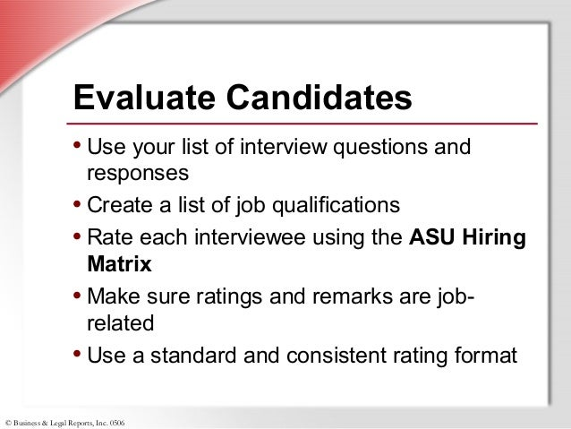 SlideShare  Job Qualifications List