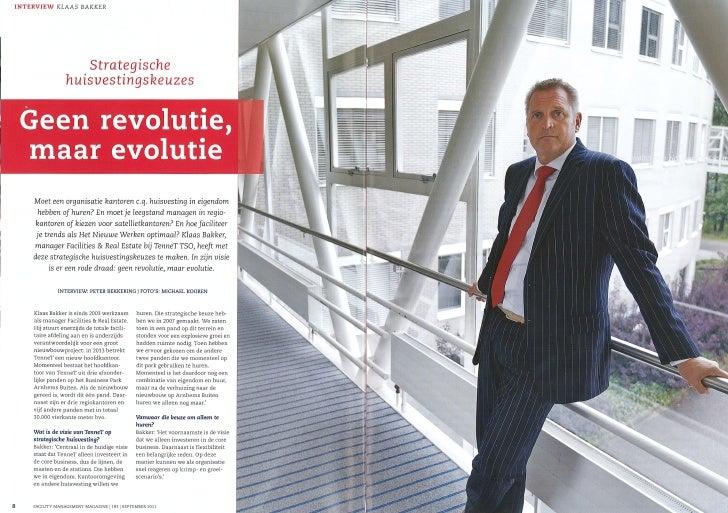 Interview Klaas Bakker (TenneT tso) FMM september 2011