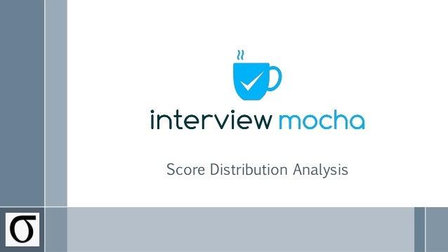 Score Distribution Analysis