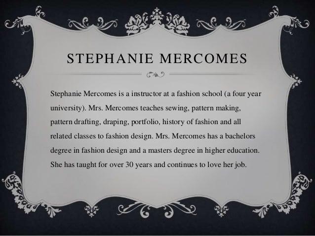 Interview Of A Fashion Design Teacher