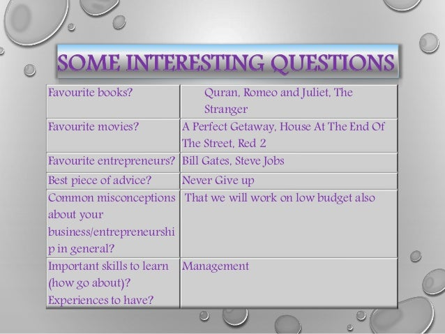 questions on entrepreneurship This is a pre-test to find out how much you already know about entrepreneurship do not leave any questions blank this is a multiple choice quiz this is a pre-test to find out how much you already know about entrepreneurship do not leave any questions blank reveal answers.