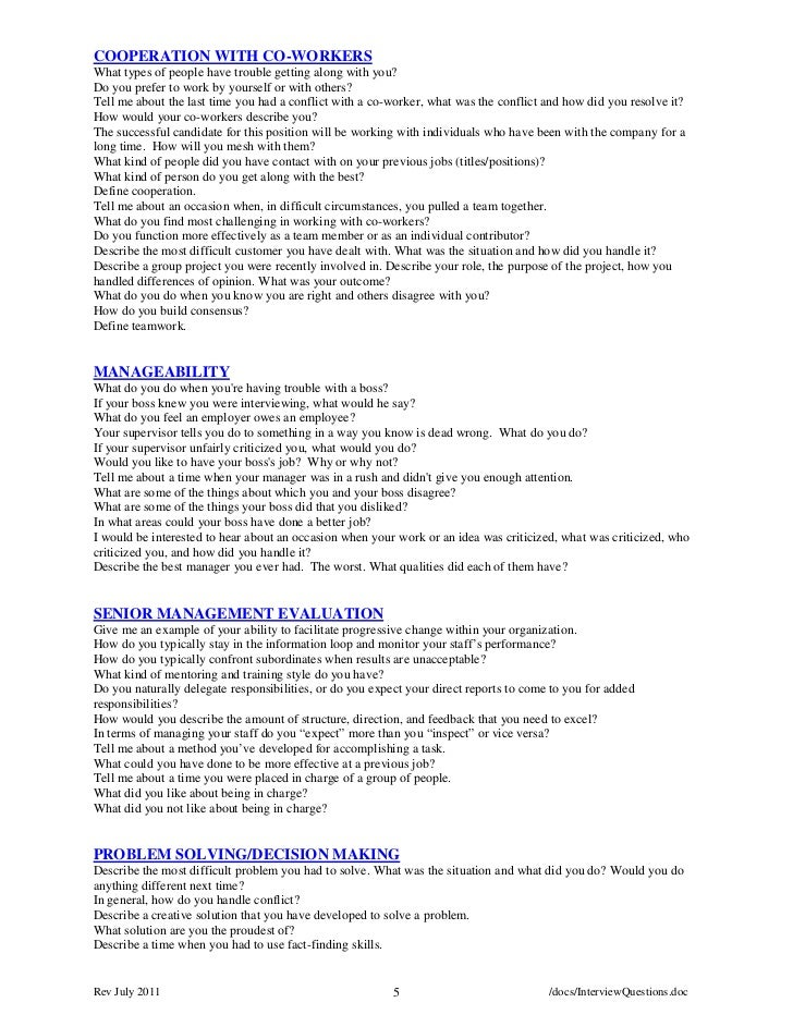 Superior Rev July 2011 4 /docs/InterviewQuestions.doc; 5.