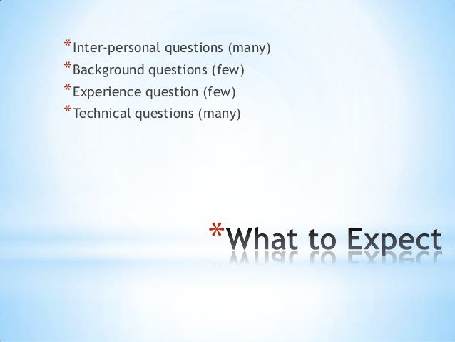 Project Management / Manager Interview Questions Slide 3