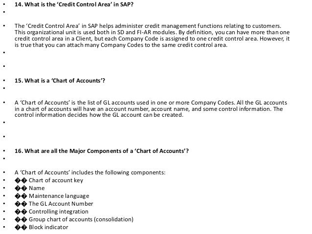 Interview questions and answers for sap financial accounting 12 fandeluxe Choice Image
