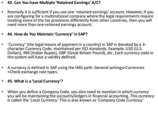 Interview questions and answers for sap financial accounting 21 fandeluxe Choice Image