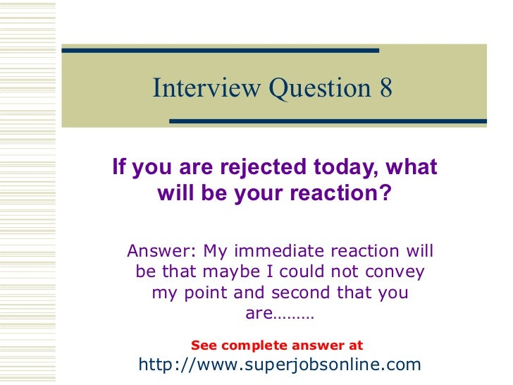 Interview Question ...