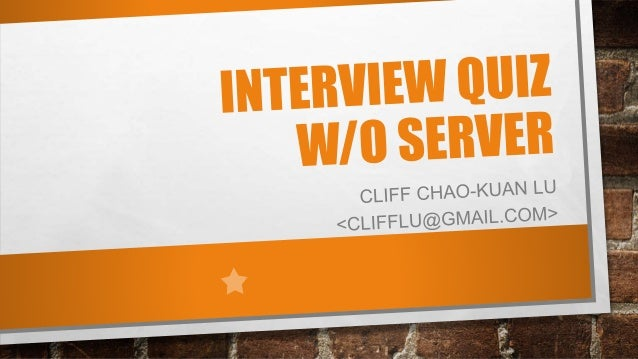 ABOUT CLIFF •Certified AWS … •Professional Level SA •Associate Level Sysops •Senior Architect @ 104 Corp. •Converted 2009