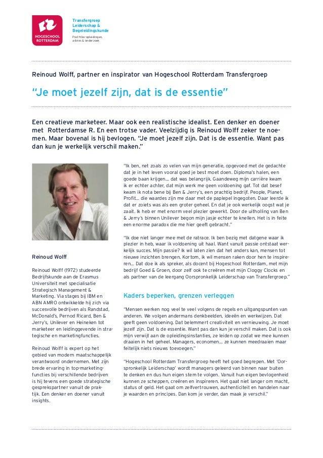 Transfergroep                  Leiderschap &                  Begeleidingskunde                  Post-hbo-opleidingen,    ...