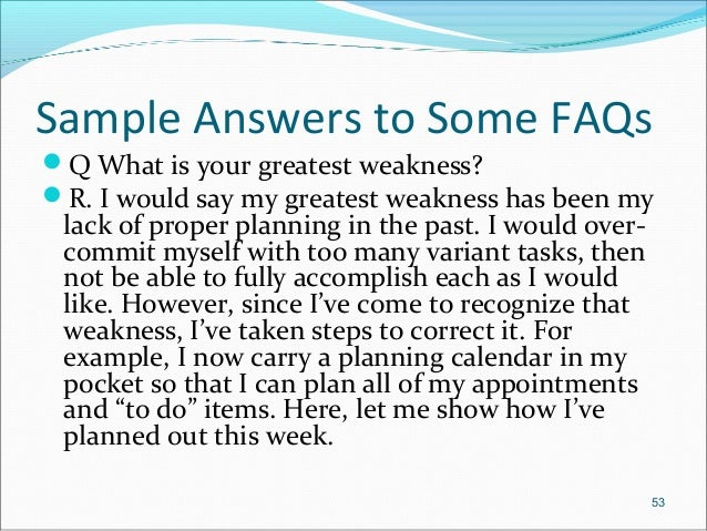 sample answers to some faqs q what is your - What Are Your Qualifications Sample Answer