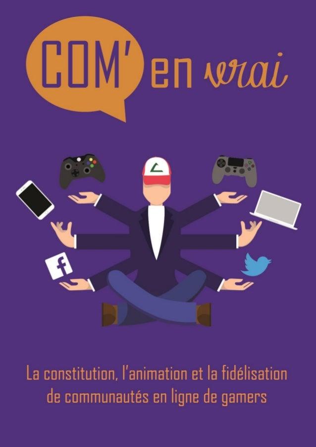 Le Sommaire Page Mathias Meriguet, social media manager d'O'Gaming Propos recueillis par Vincent Maréchal 3 https://twitte...