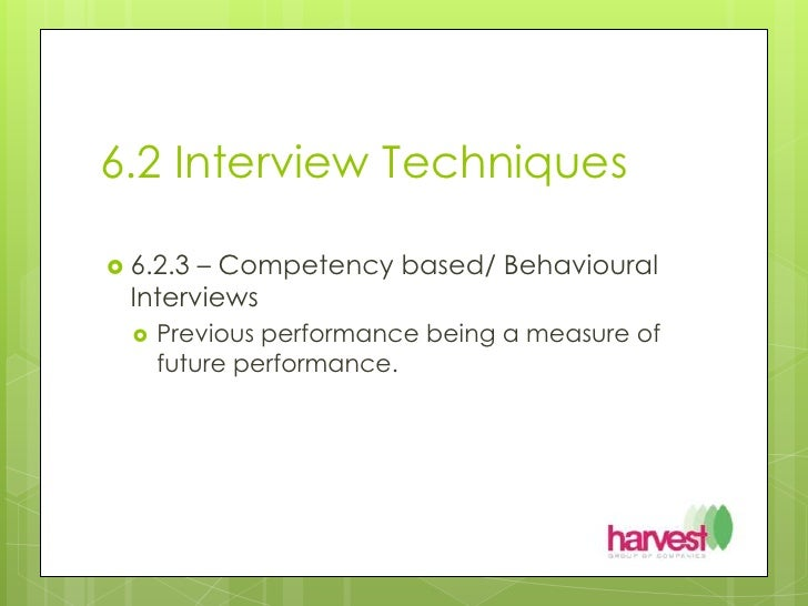 interview techniques for employers