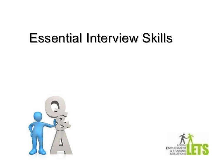 Essential Interview Skills Presented by Vinh Nguyen