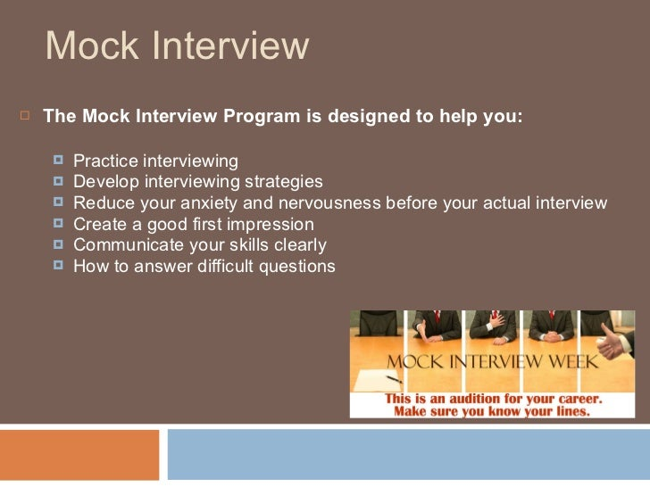 Excellent Opportunity to Improve your Interviewing Skills ...
