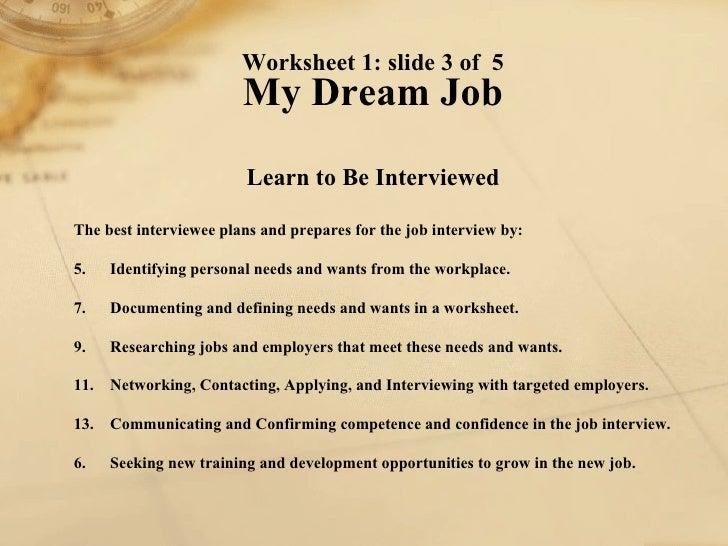All Worksheets » Job Skills Worksheets - Printable Worksheets ...