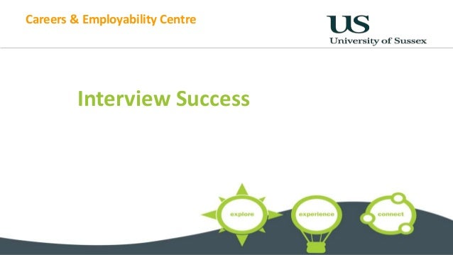 Careers & Employability Centre Interview Success