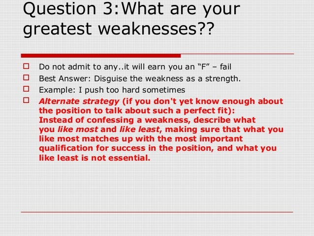 what are your strengths and weaknesses example answers