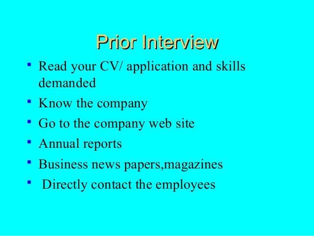 interviewtechniques ppt